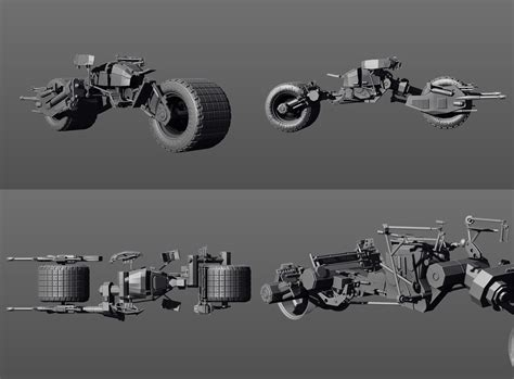 tutorial shadowbox zbrush the batpod tutorial added on page 2