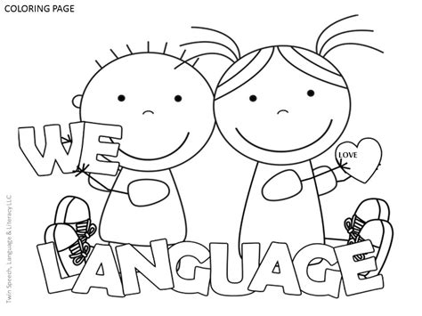 articulation coloring page free speech therapy door signs coloring pages twin