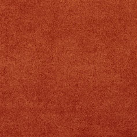 upholstery suede fabric c051 rust red ultra durable microsuede upholstery grade
