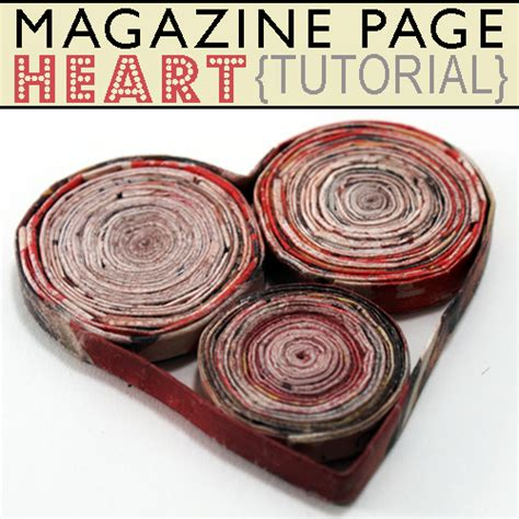 Paper From Magazines - how to craft with magazine pages