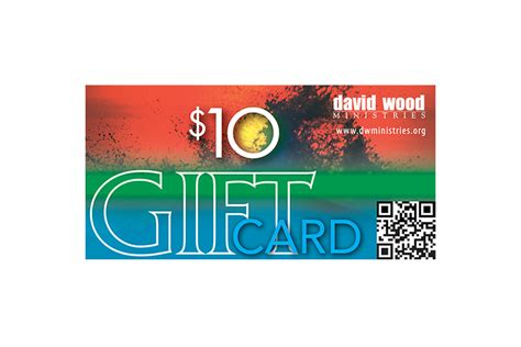 10 dollar gifts 10 gift card david wood ministries