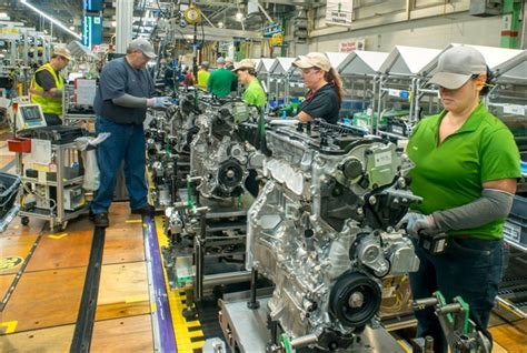 toyota line toyota investing 373m in five plants top hybrids