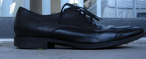 cole haan black leather shoes 7 5 m lace up oxfords nike air soles mens dress formal