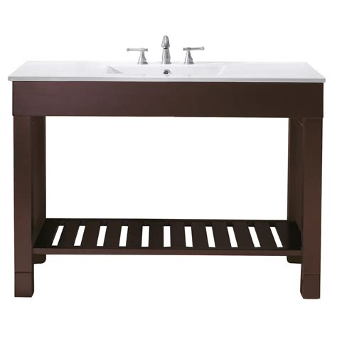 avanity loft 48 quot single modern bathroom vanity set