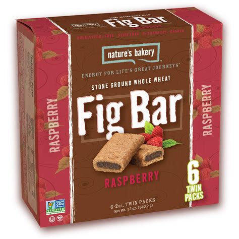 Dijamin Nature S Bakery Whole Wheat Fig Bar Original Box Of 6 fig bars
