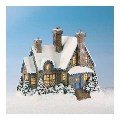 thomas kinkade christmas houses the bradford exchange thomas kinkade christmas at swanbrook lighted village house