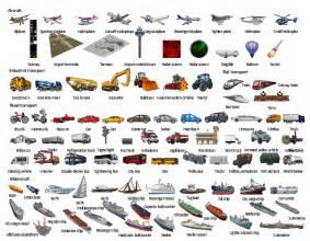 design elements aircraft transport template design