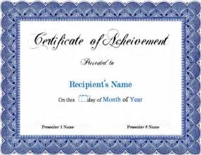 achievement certificate templates free 13 new certificate of achievements certificate templates