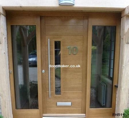 Contemporary Double Doors Made To Measure From European Modern Front Doors Uk