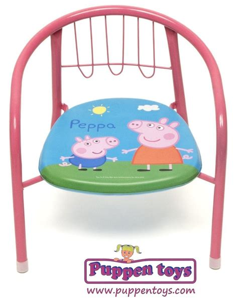 peppa pig table and chairs pink metal chair peppa pig arditex juguetes puppen toys