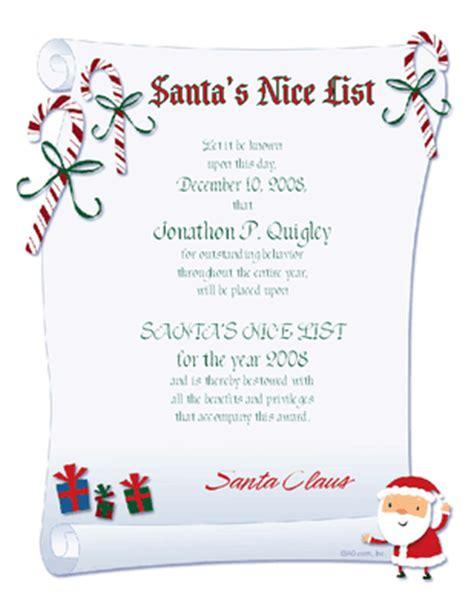 free santa certificate template free printable list certificate new calendar