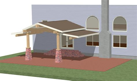 Rear Patio Designs Help With Ideas Patio Roof Page 2 Carpentry Contractor Talk