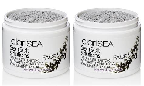 Clarisea Sea Salt Solutions Pore Detox by 53 On Clarisea Pore Detox Mask Livingsocial Shop