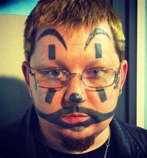 worst face tattoos ouch 14 more bad fails team jimmy joe