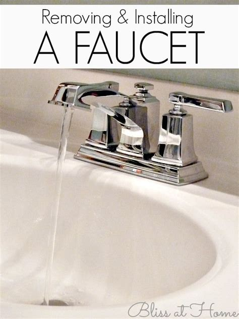 how to remove a bathtub faucet instructions on removal and installation of a bathroom
