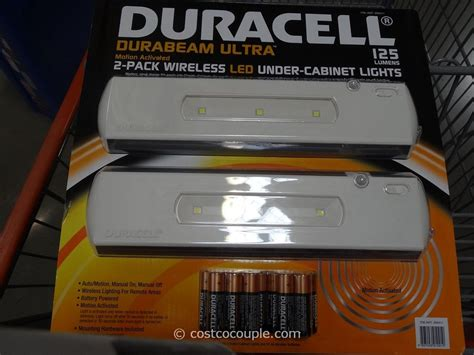 under counter lights battery duracell led undercabinet lights