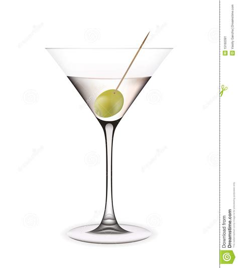 best martini olives martini with olive stock image image 15160391