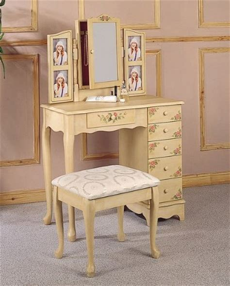 Vanity Black Friday Black Friday Vanity Table Set In Ivory Coaster Best Deals