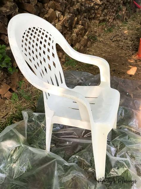 chalk paint plastic from to brand new how to spray paint plastic chairs