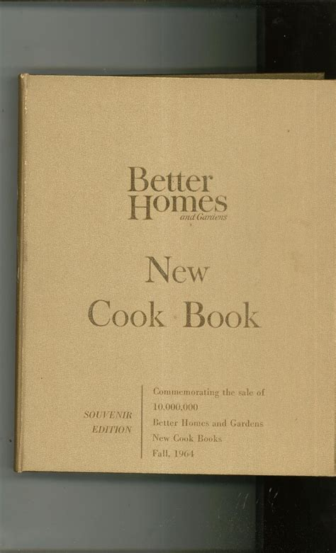 better homes and gardens new cook book gold souvenir