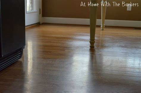 hardwood floors shine before and after hardwood floors at home with the barkers