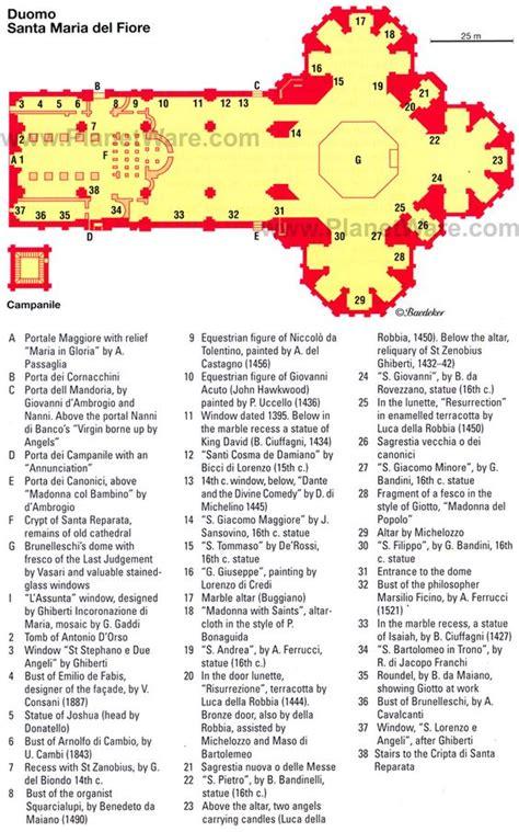floor plan of the basilica di santa maria maggiore rome map of florence duomo santa maria del fiore planetware