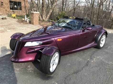 auto air conditioning service 1997 plymouth prowler lane departure warning 1999 plymouth prowler for sale classiccars com cc 1079453