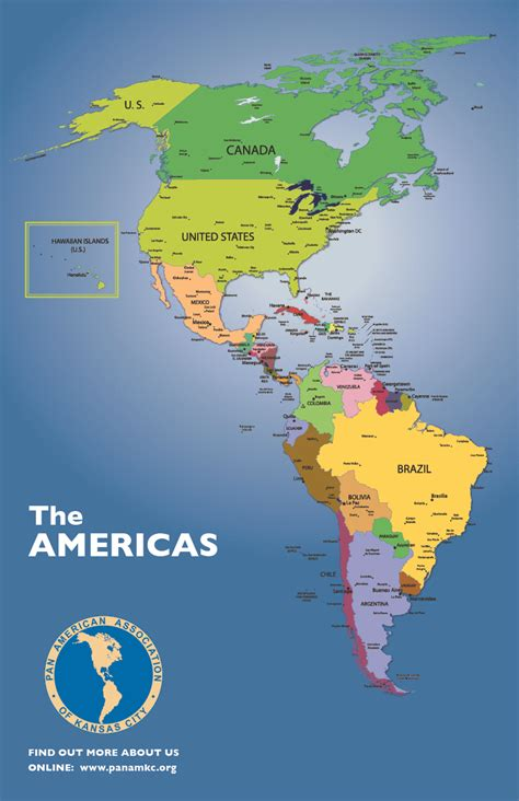 map of americas map americas