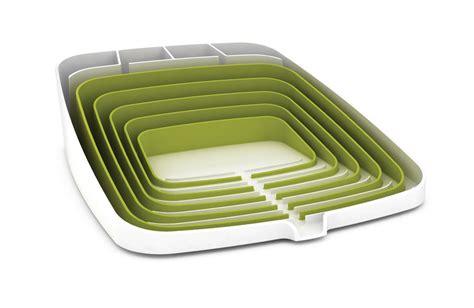 Arena Dish Rack by Arena Draining Rack Dish Drainer Green White By Joseph