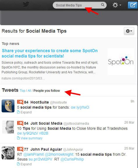 Find Peoples Tweets 5 Ways To Get More To See Your Tweets On