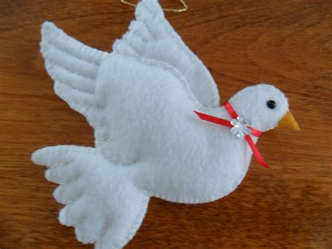 pattern for felt dove ornament best photos of felt dove pattern felt dove ornament