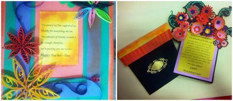 Teachers Day Handmade Card Ideas - craft ideas and bulletin boards for elementary
