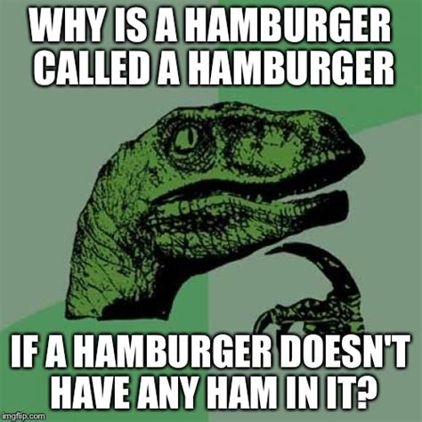 Hamburger Memes - hamburger questions imgflip