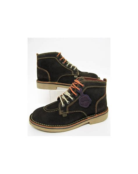Kickers Suede kickers legendary boots in suede brown legendary mens kickers boots