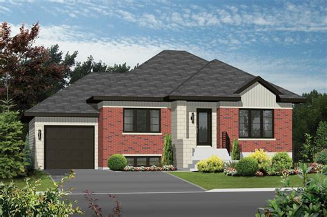 Square 1099 Contemporary Style House Plan 2 Beds 1 Baths 1099 Sq Ft