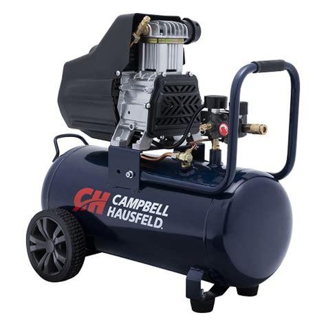 air compressor  gallon oilless campbell hausfeld dc