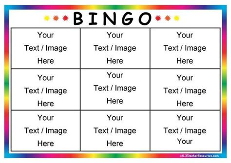 bingo cards templates 17 best ideas about bingo template on bingo