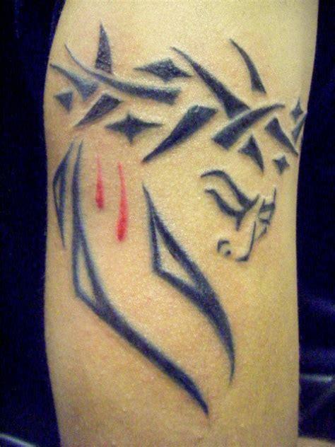jesus tribal tattoos images jesus images designs