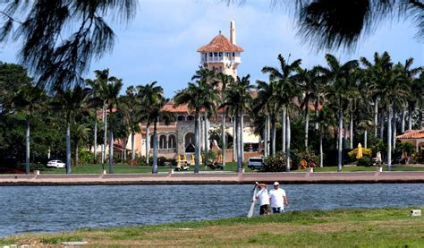 is trump at mar a lago trump s nightmares are all coming true as visitor logs to