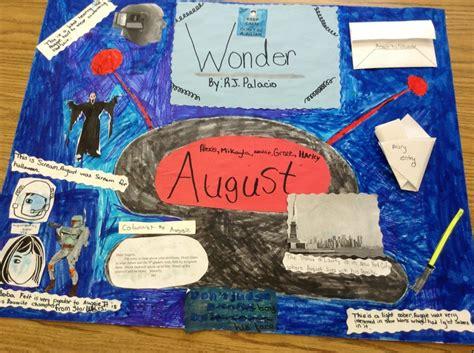 themes for the book schooled wonder r j palacio scrapbook project school book club