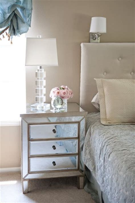 mirrored side table bedroom 25 best ideas about crystal ls on pinterest vintage