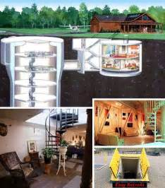 missile silo homes for nuclear family housing in a real missile silo home