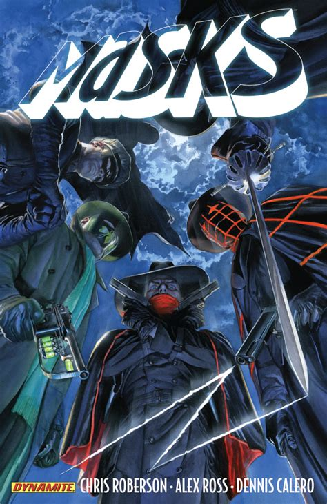 Masks Vol 1 dynamite comics solicitations and previews for august 28