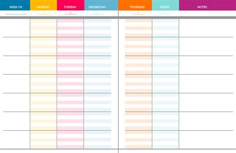 printable teacher planner template 6 best images of teacher planning free printable pages