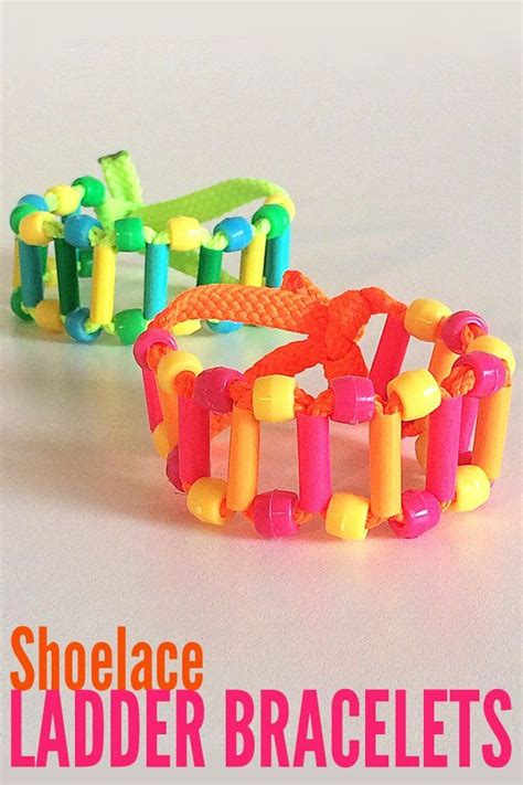 craft projects for tweens tween craft ideas shoelace ladder bracelet