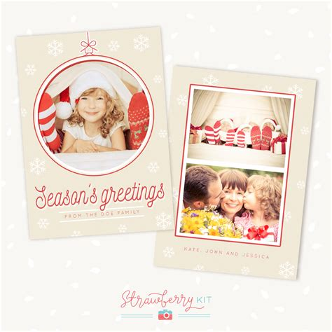 Card Templates For Photographers 2014 by Card Template Photographers 2 Strawberry Kit