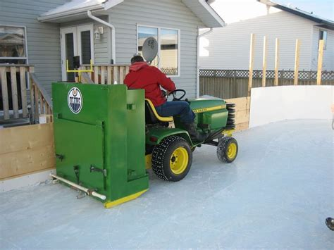 backyard ice rink zamboni my zamboni for our michigan home future projects pinterest