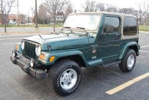 2000 Jeep Wrangler Sahara 4 0l 5 Speed One Owner
