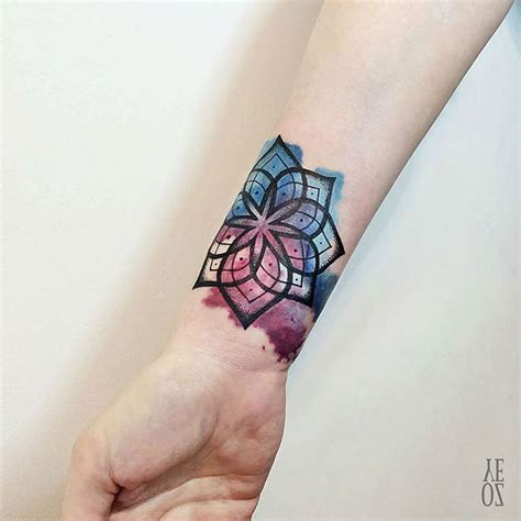 mandala wrist tattoo simple mandala best ideas gallery