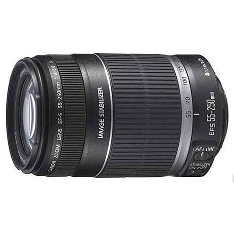 Canon Ef S 55 250mm F 4 5 6 Is Stm Lensa Kamera Hitam White Box canon ef s 55 250mm f 4 5 6 is